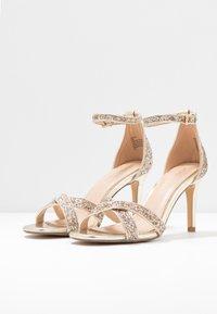 Head over Heels by Dune - MADIHA - Sandaler med høye hæler - gold metallic - 4