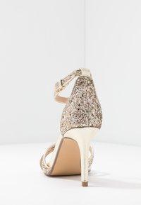 Head over Heels by Dune - MADIHA - Sandaler med høye hæler - gold metallic - 5