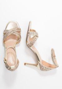 Head over Heels by Dune - MADIHA - Sandaler med høye hæler - gold metallic - 3