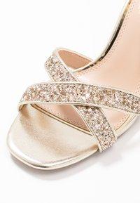 Head over Heels by Dune - MADIHA - Sandaler med høye hæler - gold metallic - 2