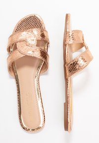 Head over Heels by Dune - LUCIEN - Pantofle - rose gold - 3