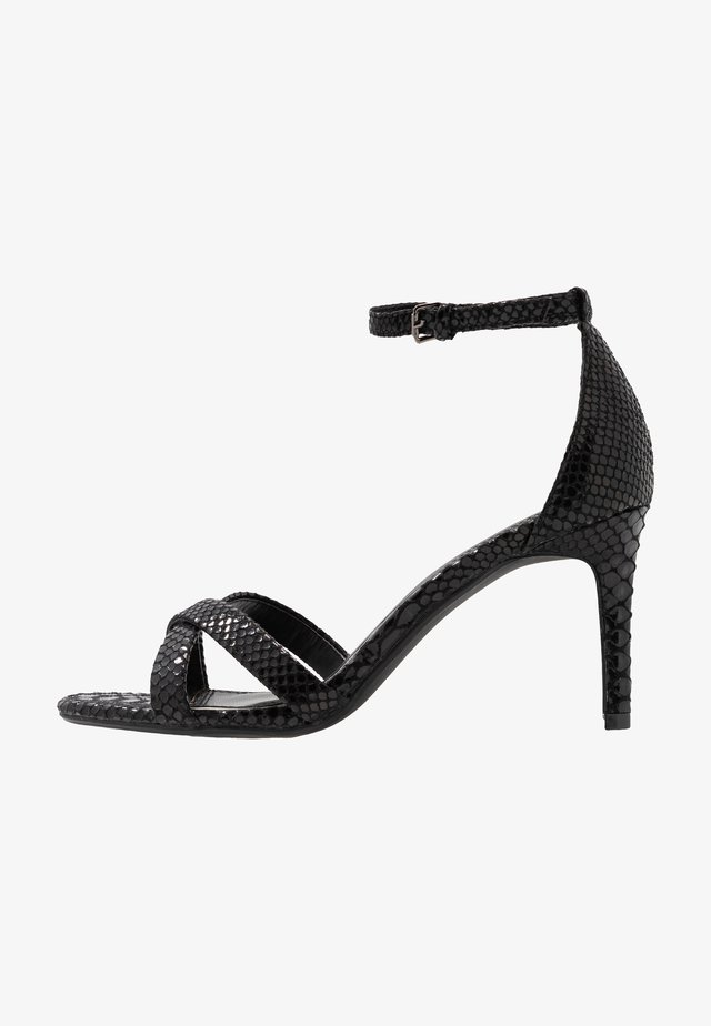 MADIHA - High Heel Sandalette - black