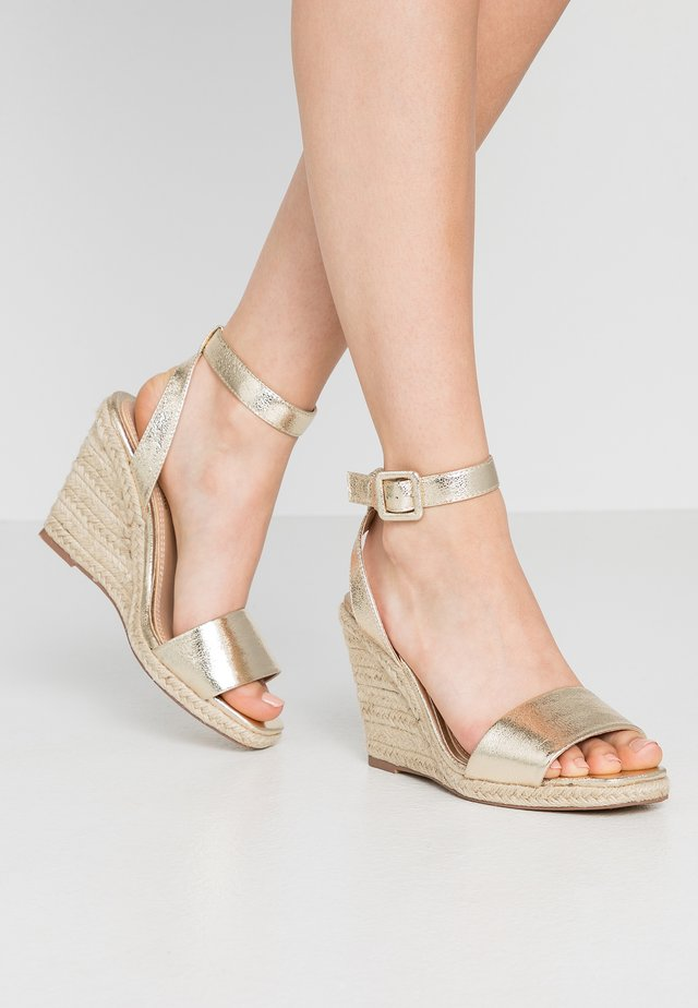 KAIRI - High heeled sandals - gold