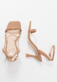 Head over Heels by Dune - MINKA - Sandály na vysokém podpatku - nude - 3