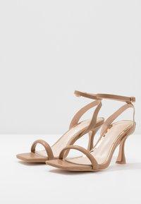Head over Heels by Dune - MINKA - Sandály na vysokém podpatku - nude - 4