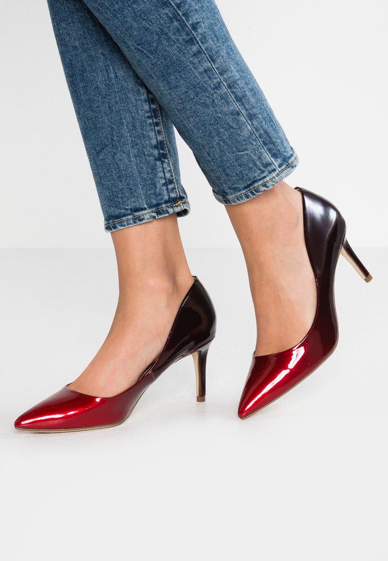 Head over Heels by Dune - AISLA - Classic heels - red
