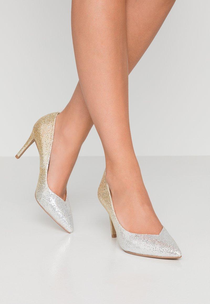 Head over Heels by Dune - AMALIA - Korolliset avokkaat - gold glitter