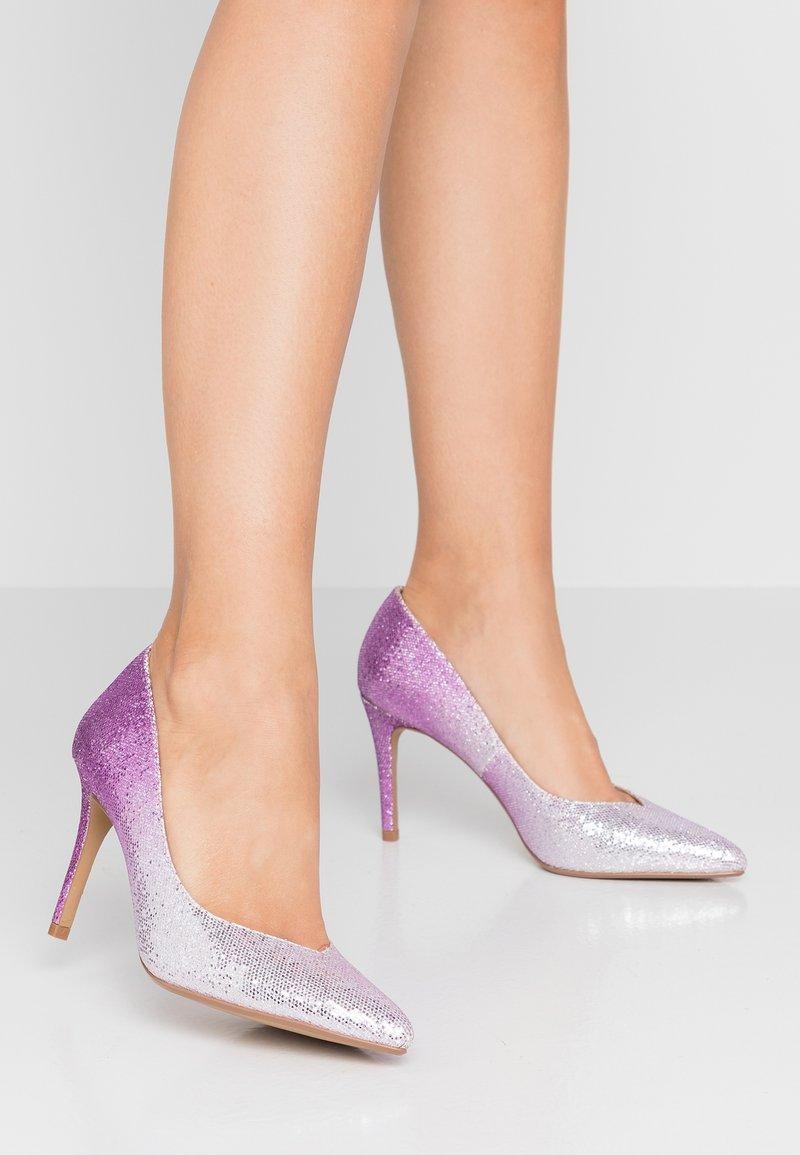 Head over Heels by Dune - AMALIA - High heels - pink glitter