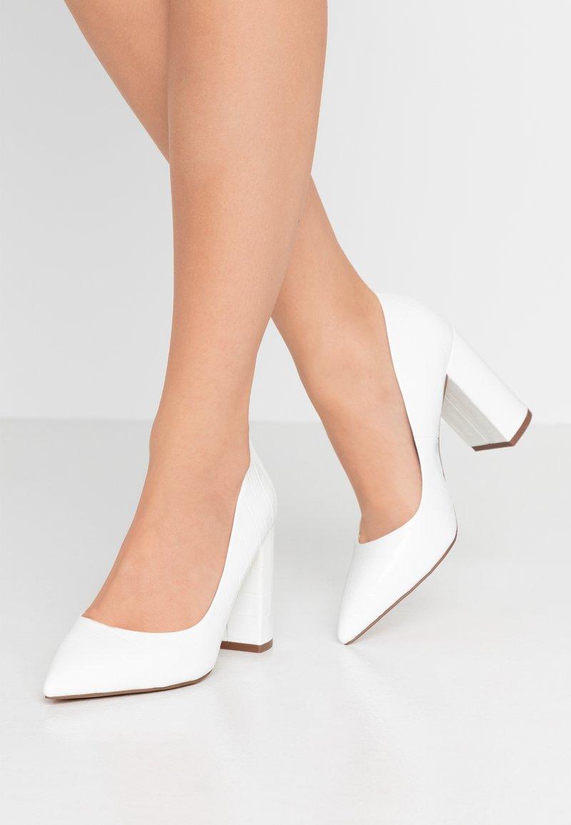 Head over Heels by Dune - High Heel Pumps - white