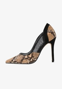 Head over Heels by Dune - ANANDA - Escarpins à talons hauts - black/white - 1