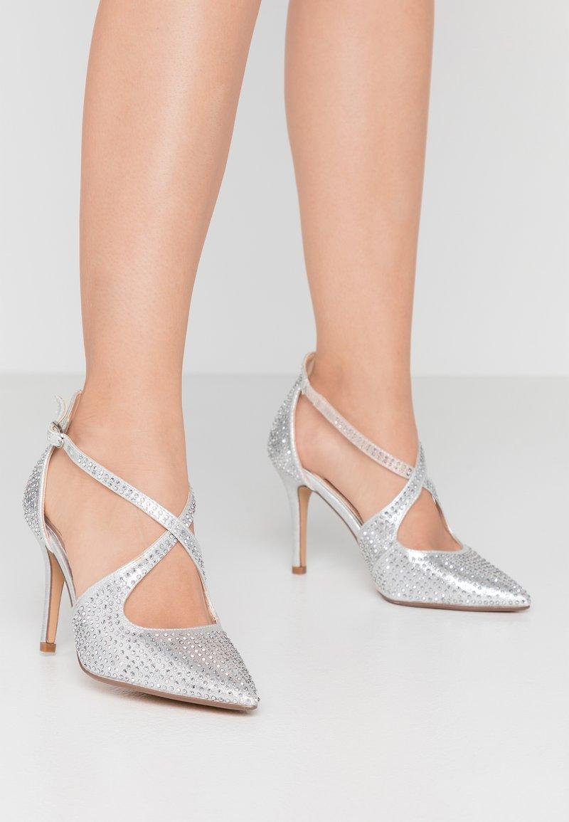 Head over Heels by Dune - CAROLIINA - Klassiske pumps - silver