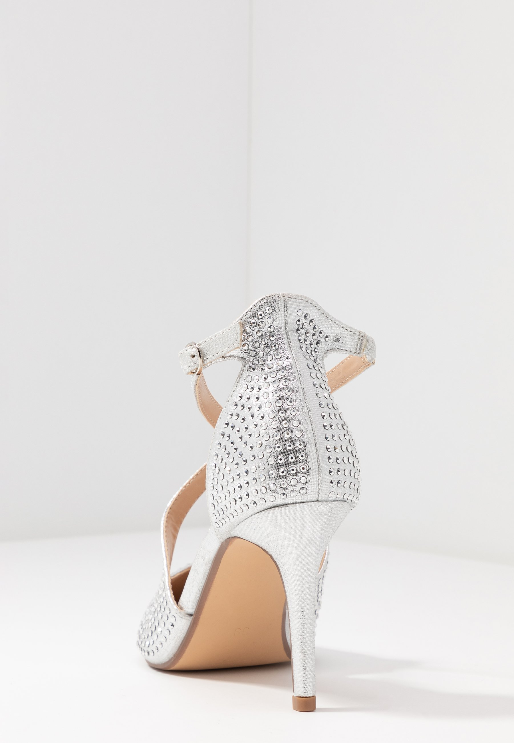 Head over Heels by Dune CAROLIINA - Czółenka - silver