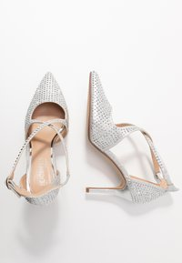 Head over Heels by Dune - CAROLIINA - Klassiske pumps - silver - 3