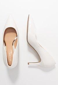 Head over Heels by Dune - AISLA - Klassieke pumps - white - 3