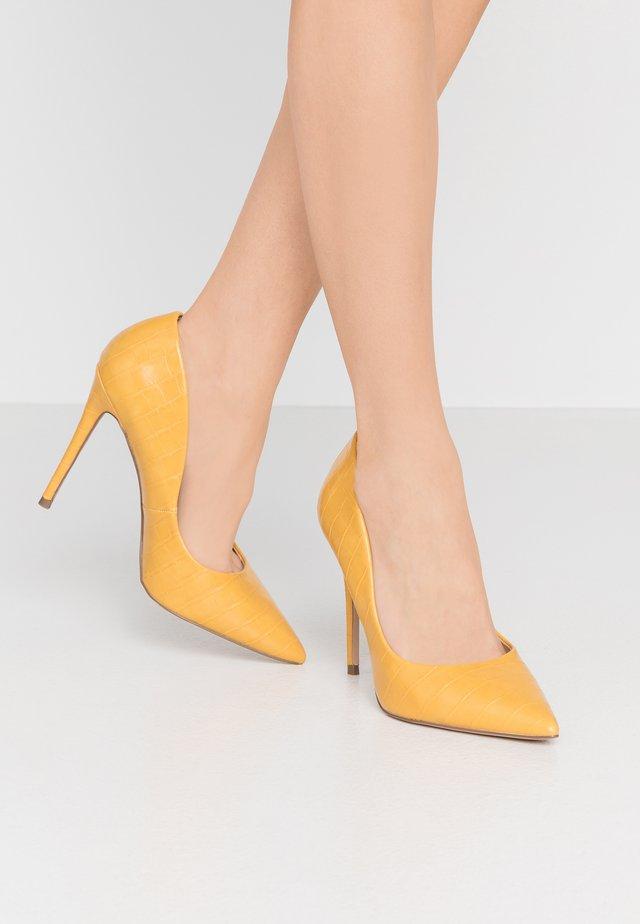 AIMEES - Lodičky na vysokém podpatku - yellow