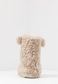 Head over Heels by Dune - FUZZY - Slippers - beige - 5