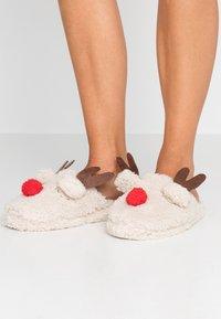 Head over Heels by Dune - FIXEN - Pantofole - beige - 0