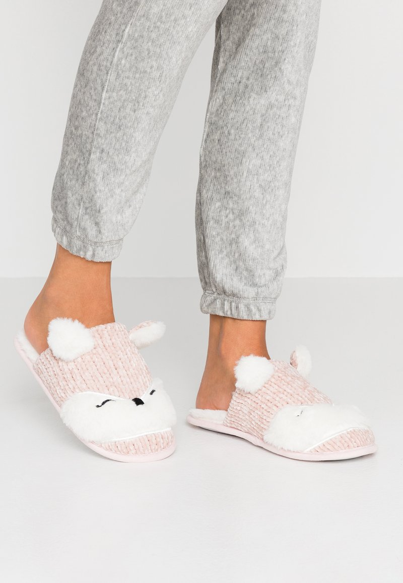 Head over Heels by Dune - FRONIE - Slippers - pink