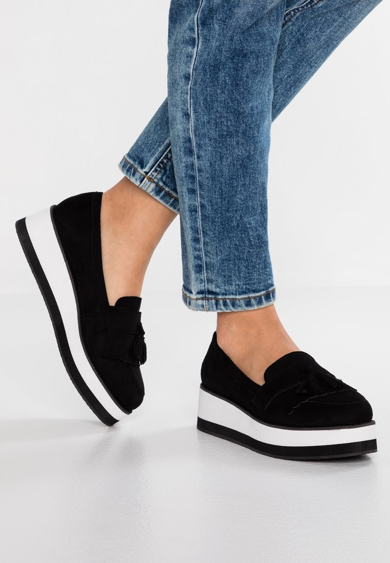 Head over Heels by Dune - GILLYS - Scarpe senza lacci - black