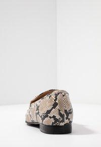 Head over Heels by Dune - GIZI - Loaferit/pistokkaat - beige - 5