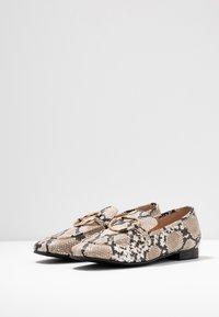 Head over Heels by Dune - GIZI - Loaferit/pistokkaat - beige - 4