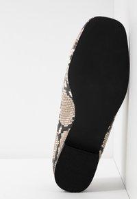 Head over Heels by Dune - GIZI - Loaferit/pistokkaat - beige - 6