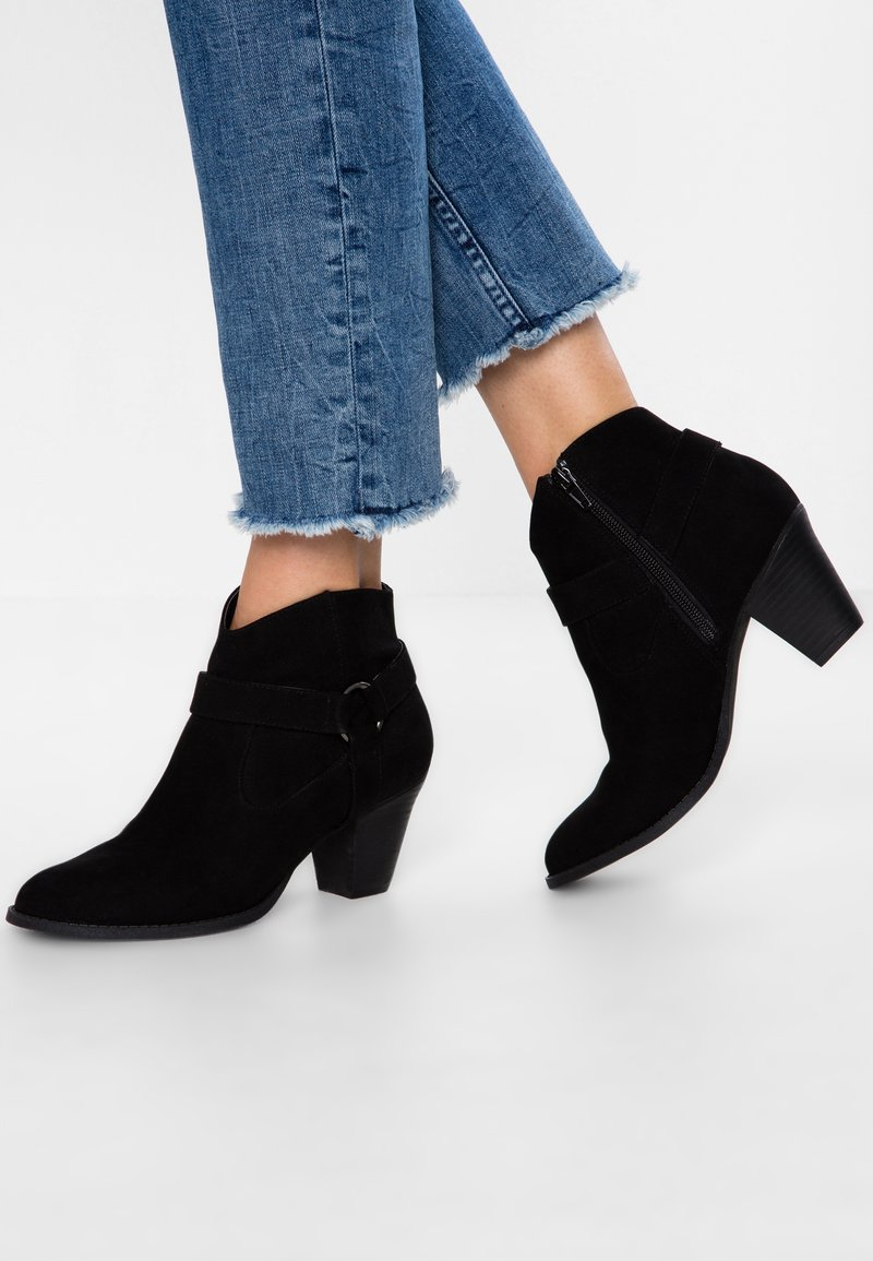 Head over Heels by Dune - PAXXY - Ankle Boot - black