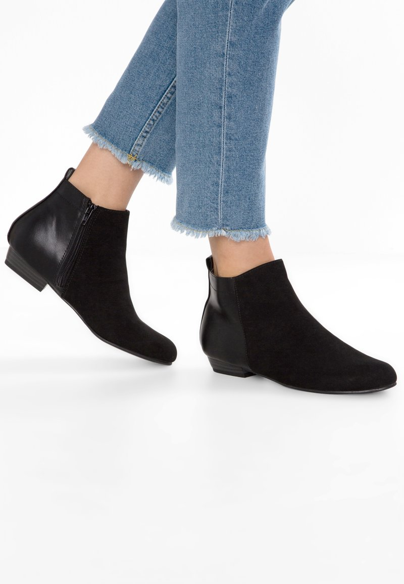 Head over Heels by Dune - PEREY - Ankle Boot - black