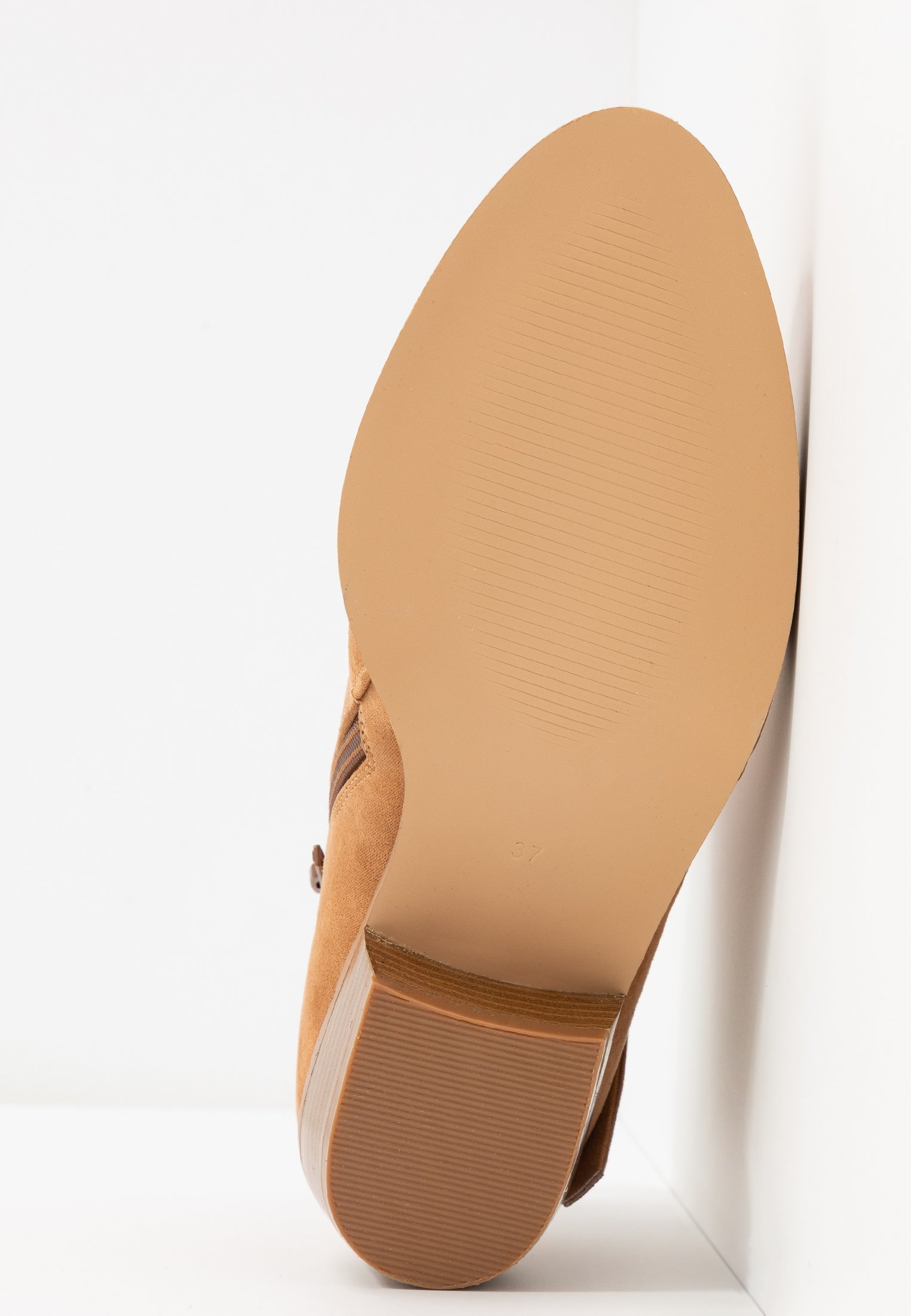 Head over Heels by Dune PEDRINE - Boots à talons tan