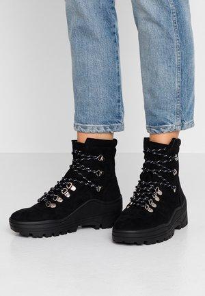 PHOBE - Platform ankle boots - black