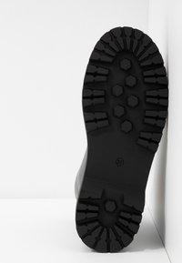Head over Heels by Dune - PINKY - Bottines à plateau - black - 6