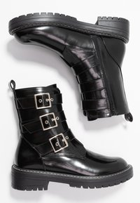 Head over Heels by Dune - PIERR - Cowboystøvletter - black - 3
