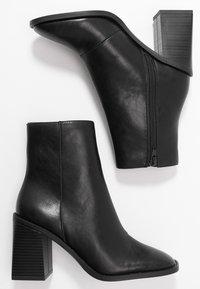 Head over Heels by Dune - OLIVEE - Stivaletti con tacco - black - 3