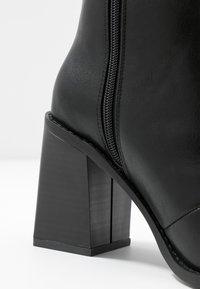 Head over Heels by Dune - OLIVEE - Stivaletti con tacco - black - 2