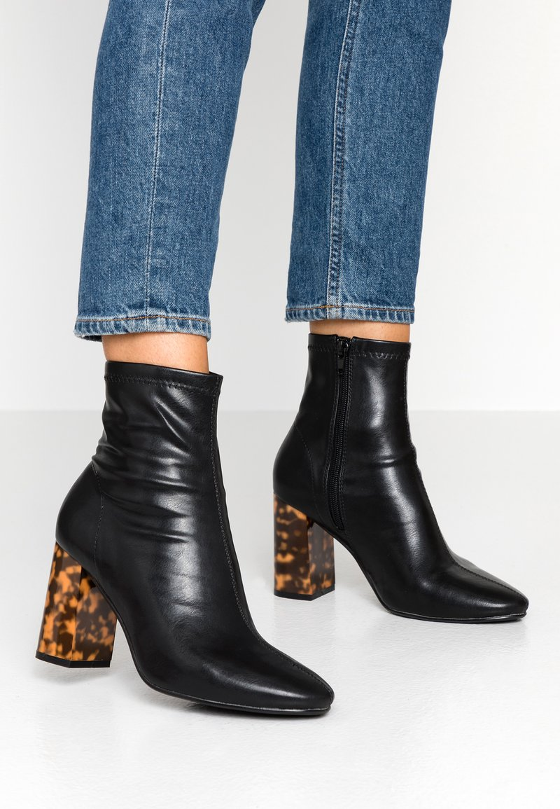 Head over Heels by Dune - OMER - High heeled ankle boots - black