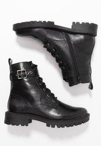 Head over Heels by Dune - PRIYANKAA - Stivaletti texani / biker - black - 3