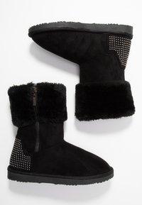 Head over Heels by Dune - ROMANA - Korte laarzen - black - 3