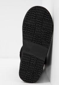 Head over Heels by Dune - ROMANA - Korte laarzen - black - 6