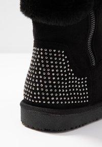 Head over Heels by Dune - ROMANA - Korte laarzen - black - 2