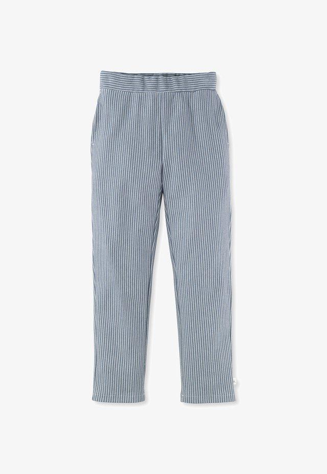 Trousers - graublau