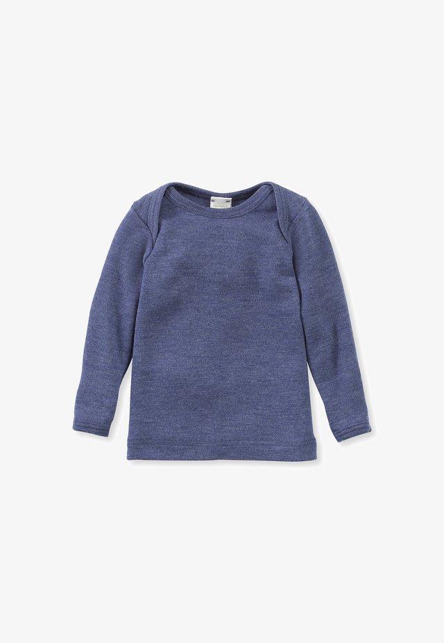 LONG SLEEVE - Long sleeved top - jeansblau