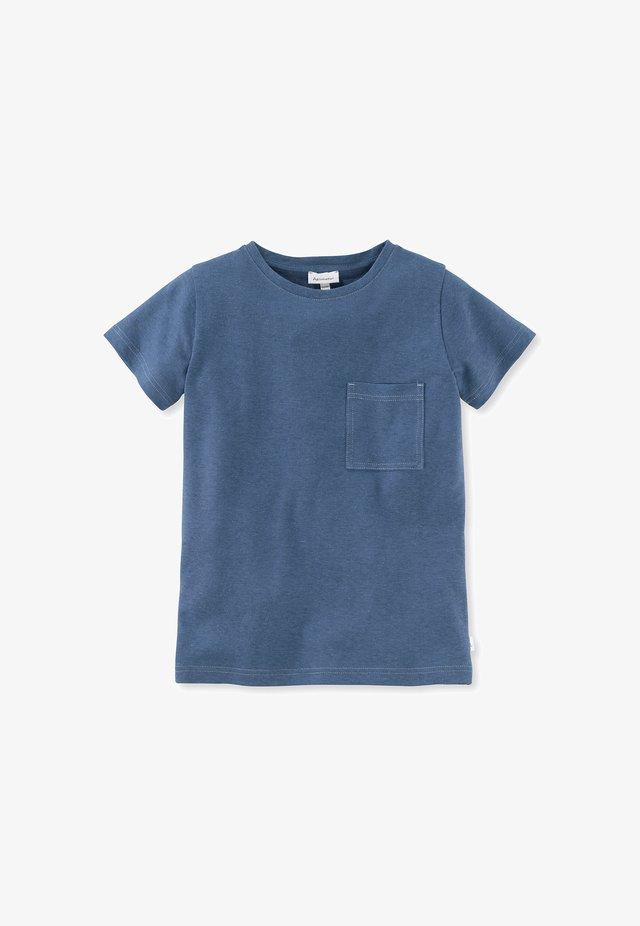 Basic T-shirt - graublau