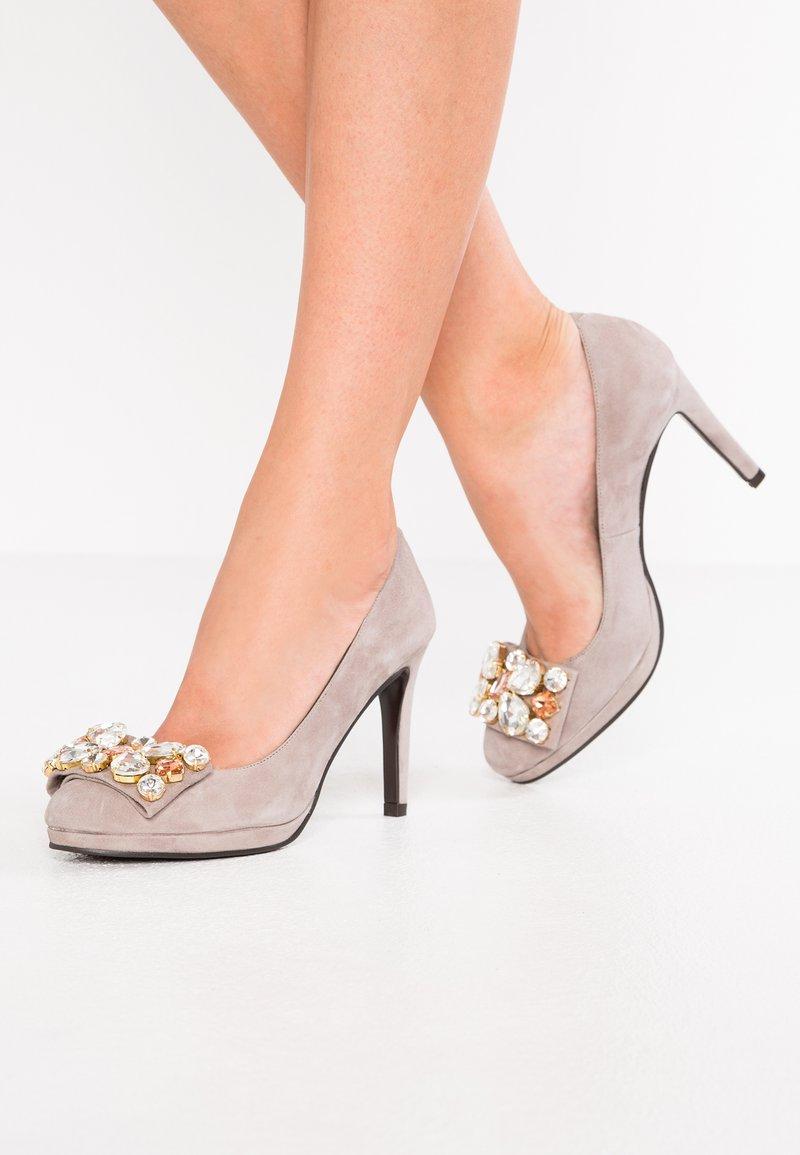 Helia - High heels - taupe