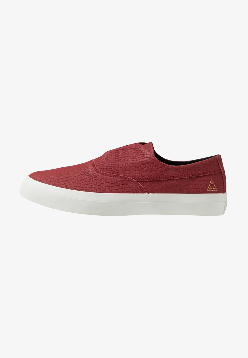 HUF - DYLAN SLIP ON - Slipper - rose wood red