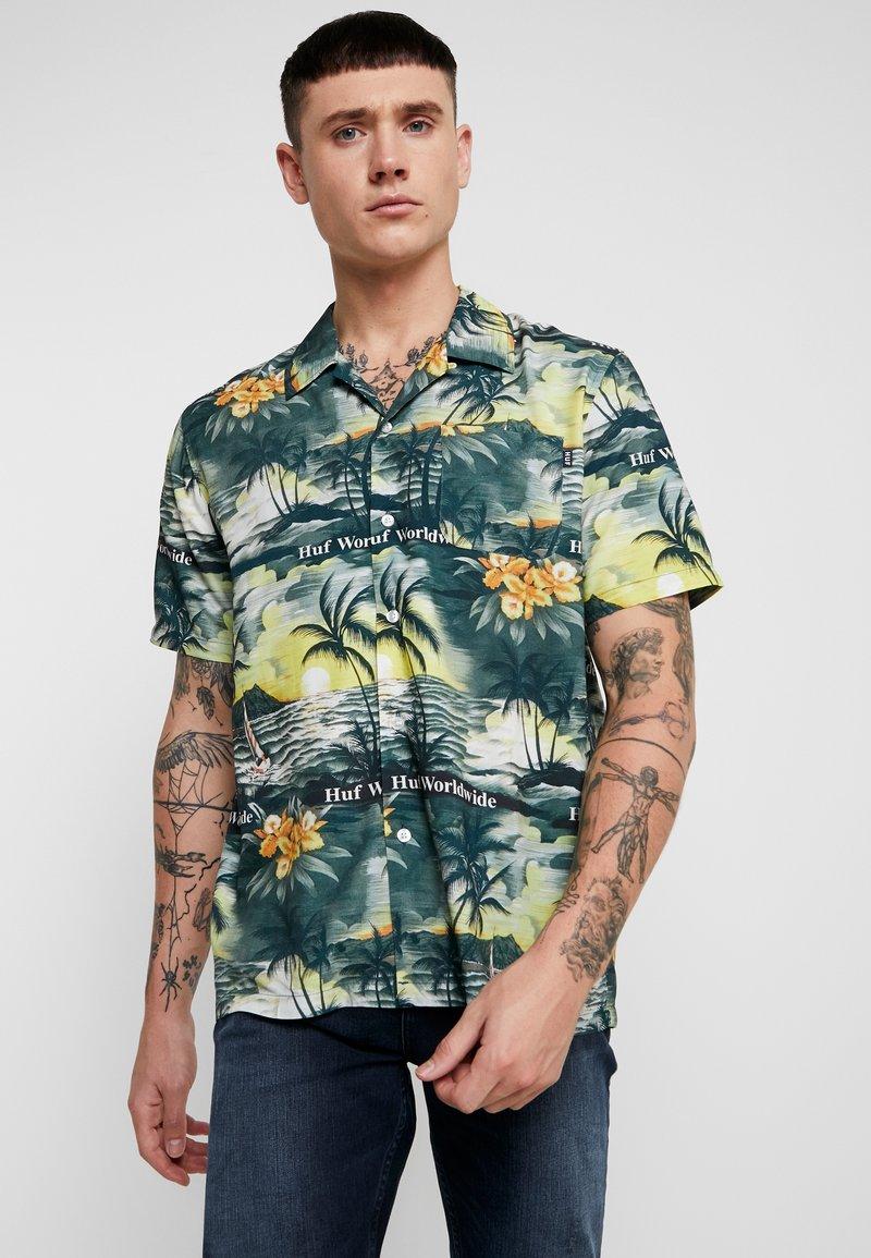 HUF - VENICE - Košile - black