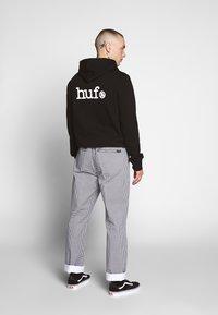 HUF - EASY WORK PANT - Stoffhose - white - 4