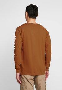 HUF - DOMESTIC TEE - Langarmshirt - rust - 2