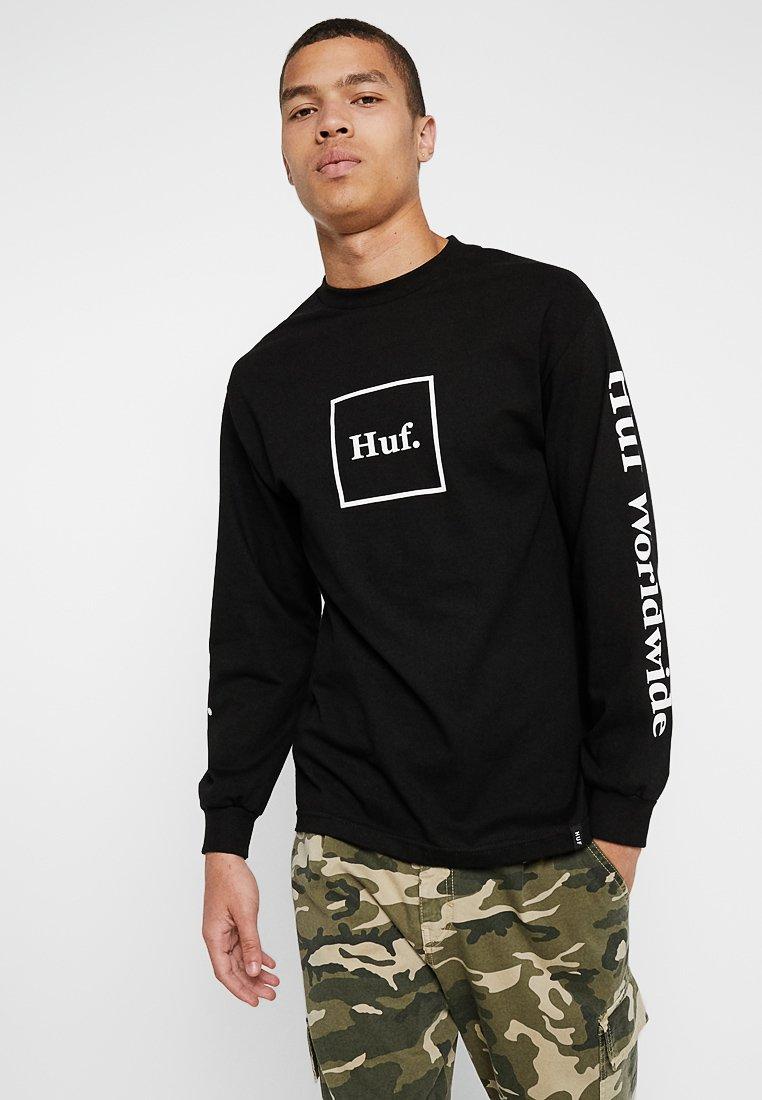 HUF - DOMESTIC TEE - Long sleeved top - black