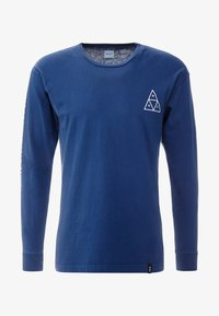HUF - ESSENTIALS TEE - Long sleeved top - insignia blue - 4