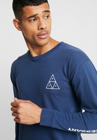 HUF - ESSENTIALS TEE - Long sleeved top - insignia blue - 3